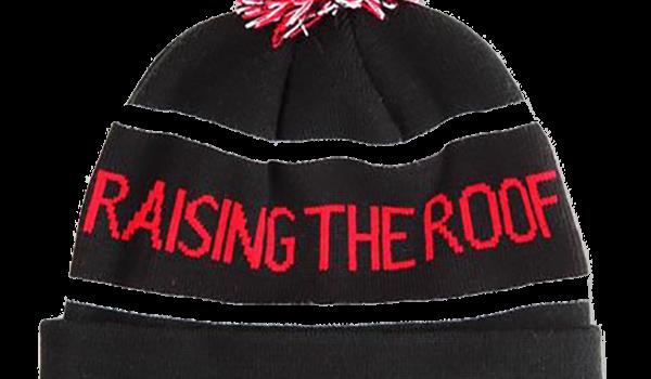 Raising the Roof Pom Pom Toque